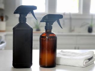 Vinegar + Hydrogen Peroxide All-Purpose Cleaner Recipe