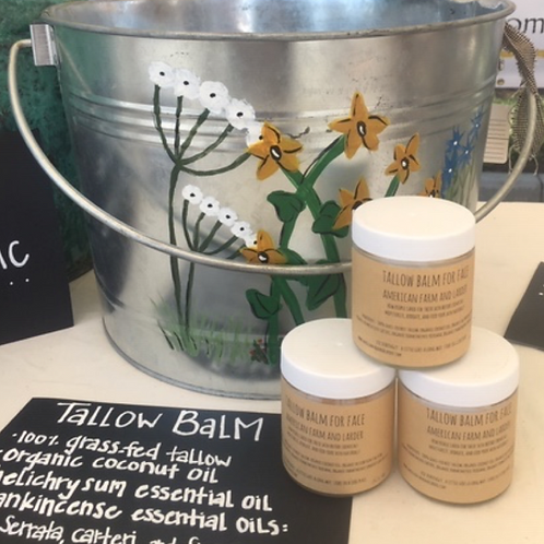 Tallow Anti-Aging Face Balm (with Helichrysum and all 3 Frankincense EO)