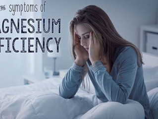 Top 10 Signs & Symptoms of Magnesium Deficiency