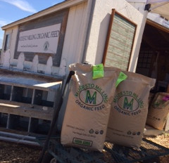 Some of my favorite things about Modesto Milling Organic Feed: