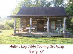 Mullins Log Cabin Getaway