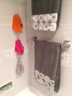 hooks to organize towels