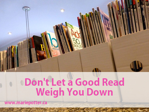 Don't Let a Good Read Weigh You Down