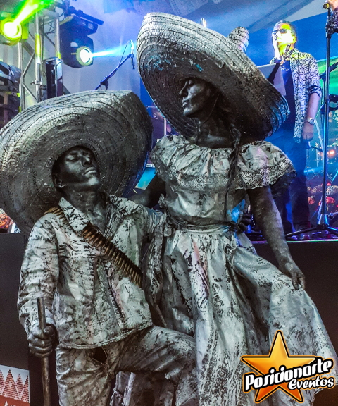 Estatuas vivientes
