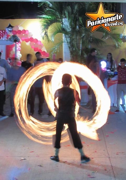 Show de fuego