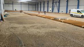Inbetriebnahme neues Logistikzentrum