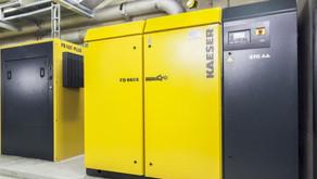 DMV investiert in eine neue Kompressor Anlage