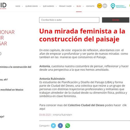 Una mirada feminista a la construcción del paisaje