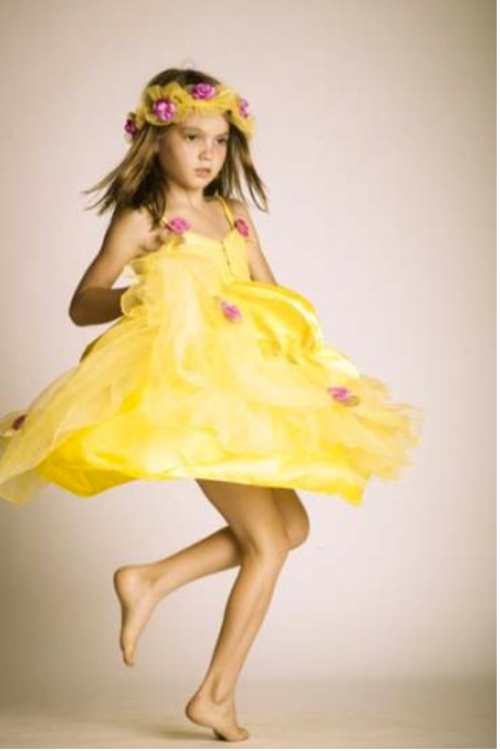 YELLOW FAIRY DRESS