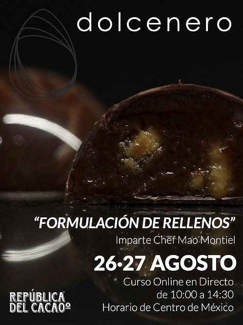 FORMULACIÓN DE RELLENOS