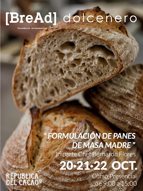 BREAD- FORMULACIÓN DE PANES DE MASA MADRE