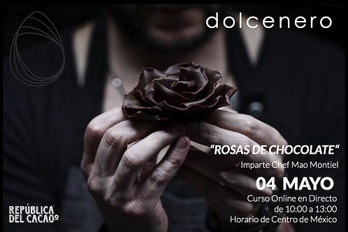 CURSO ROSAS DE CHOCOLATE