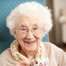 Canva - Senior Woman Enjoying Cup of Tea