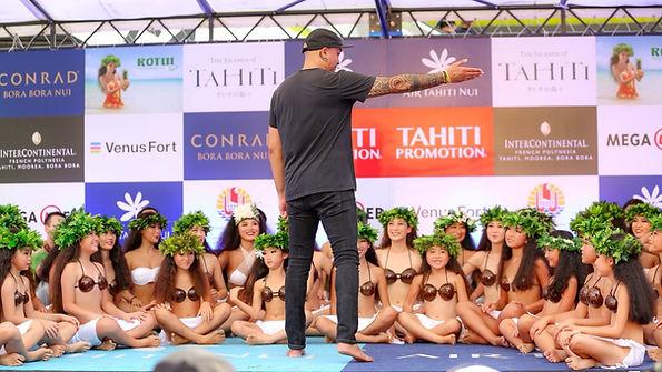 タヒチアンダンス 東京 メヴィナ