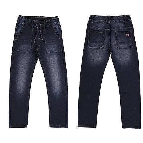 Pantalon Denim Jogger