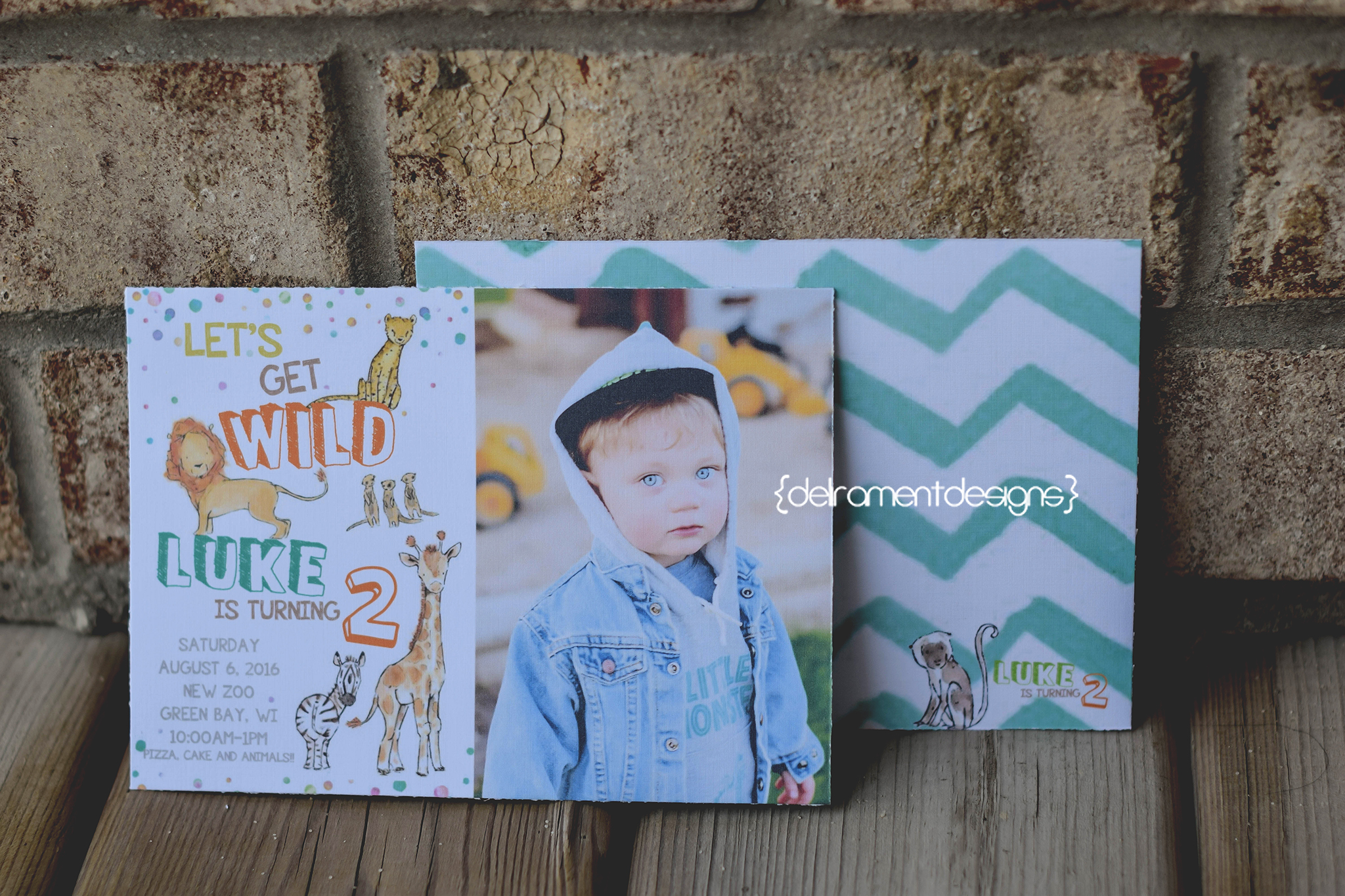 5x7 Birthday Invitation