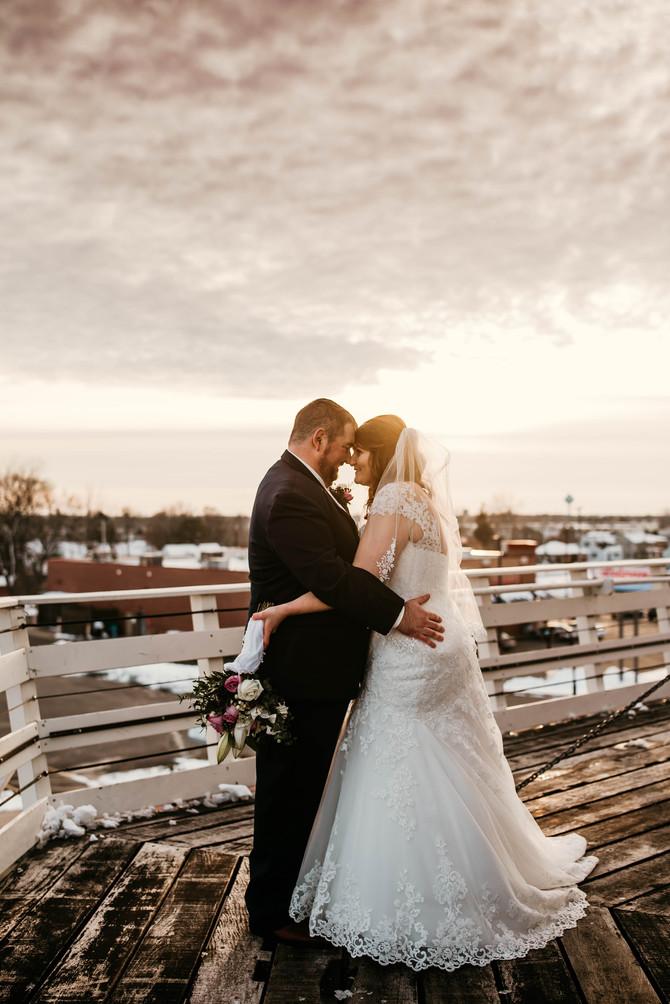 {Wedding} Ben and Maia
