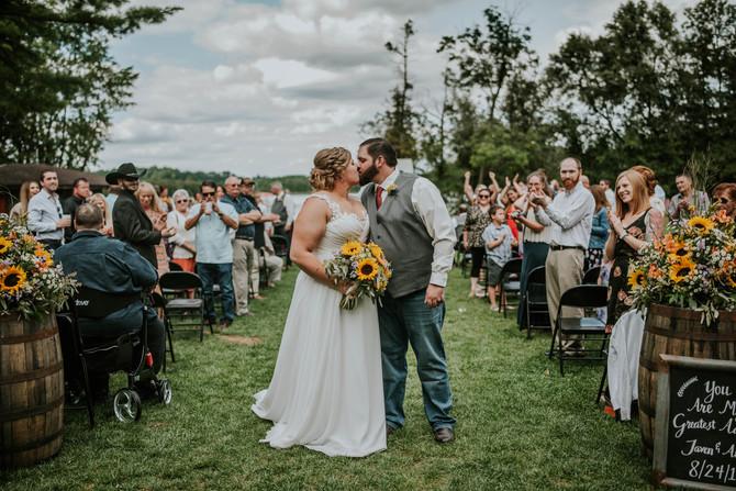 {Wedding} Allen and Taven