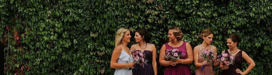 bridesmaids dresses wisconsin wedding photography