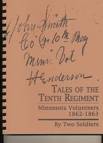 Tales of the Tenth Regiment