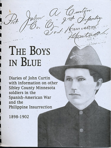 Sibley County, MN The Boys in Blue (Sp. Amer. War & Philippine Insur.)