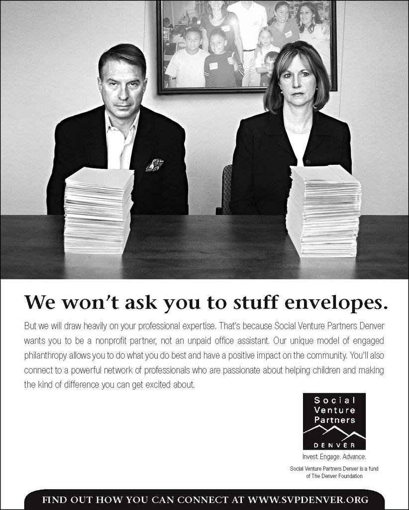 SVP Ad for Denver Business Journal