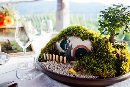 Hobbit Center piece