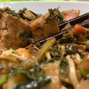 Golden Tofu Stir-Fry