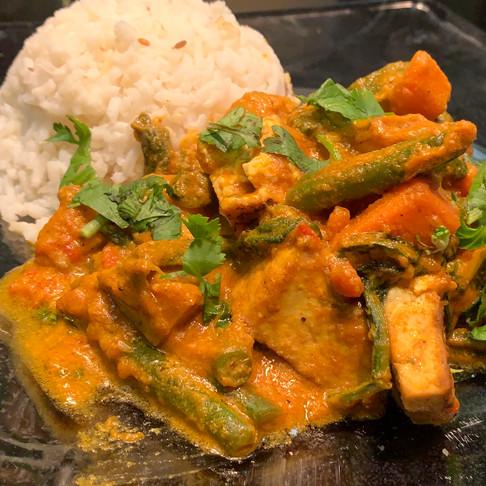 Veggie Tofu Masala