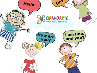O Inglês na infância