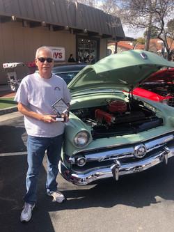 Best Vintage Car '54 Ford Customline
