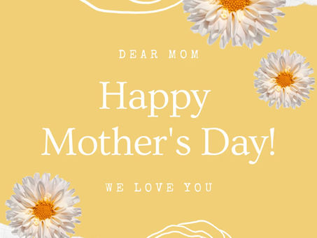 7 Ways to Celebrate Mom this Mother's Day