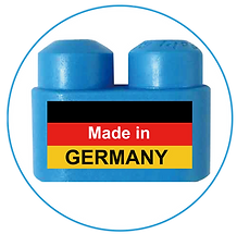 PolyM Steckbausteine werden seit 1980 in Deutschland hergestellt