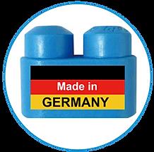 PolyM Steckbausteine sind in Deutschland hergestellt