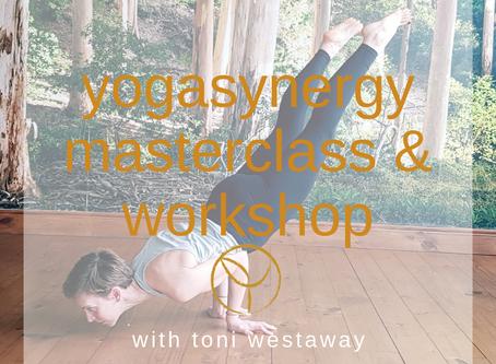 Yogasynergy masterclass & workshop