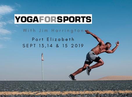 Yoga for sports Workshop