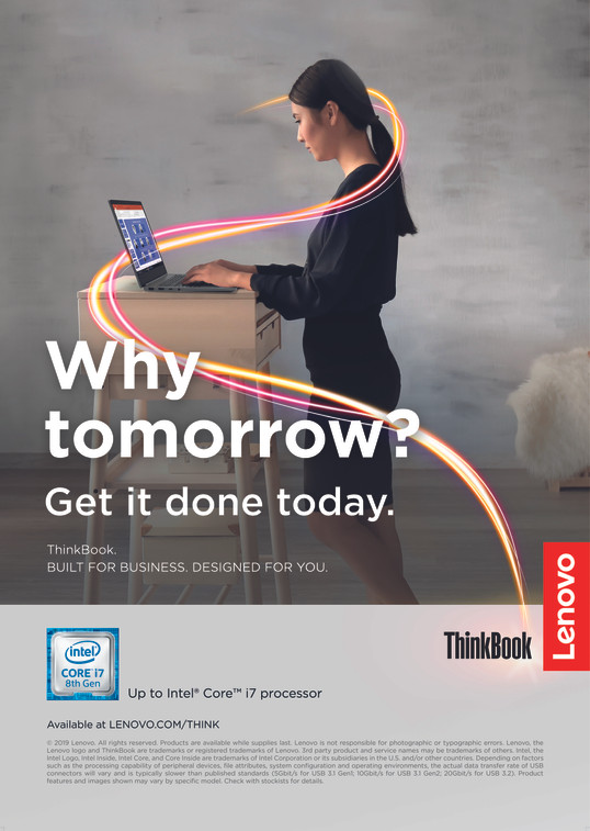 ThinkBook - Lifestyle Poster