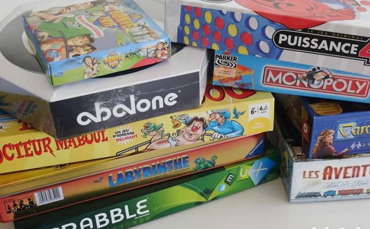 Quelques jeux fournis par les particpants