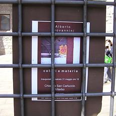 2008: Mostra personale - Chiostro S.Carluccio - Viterbo