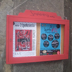 2010: Mostra personale - Zinghereria Arte - Tarquinia (VT) - Ex Chiesa Santo Spirito