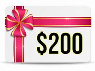 200 Gift Certificate to a Cooking Class $200
