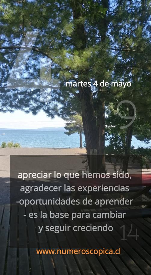 martes 4 de mayo