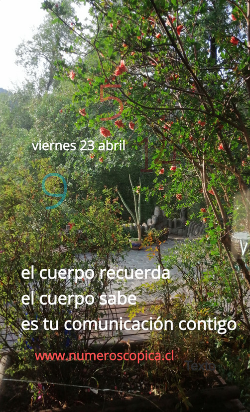 viernes 23 de abril