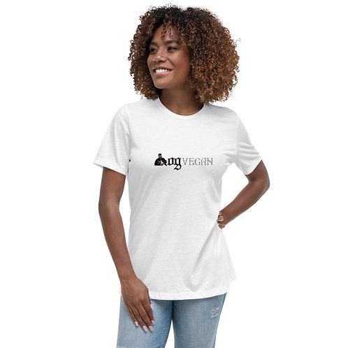 Women's Relaxed T-Shirt OGVegan Dark Logo