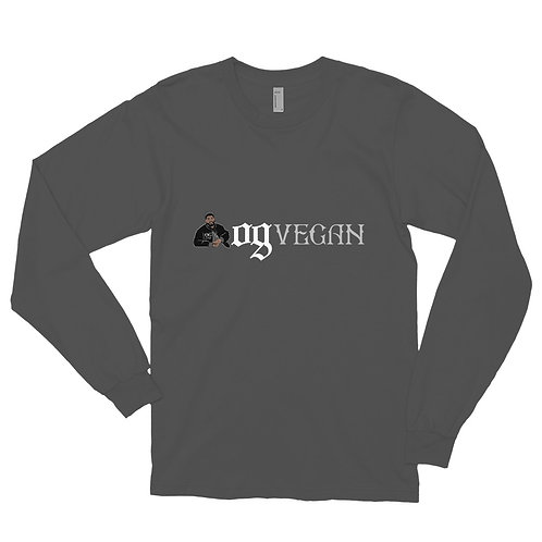 Long sleeve t-shirt OGVegan Light Logo