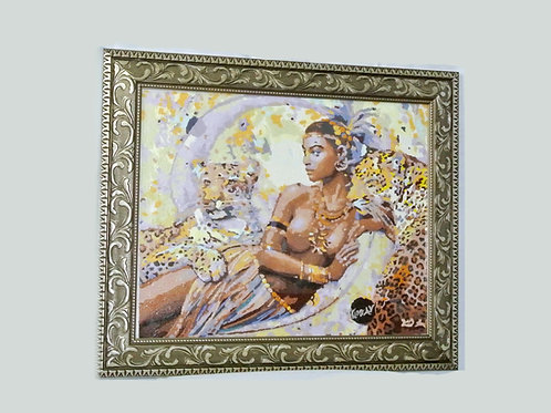 """Zara Lynn Color Tigers"" KINGston A.V Artwork"