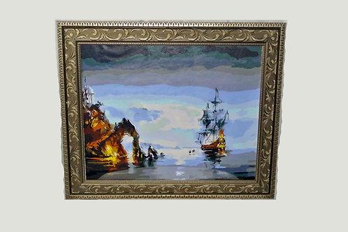 """Coast to the Coast"" KINGston A.V Artwork"
