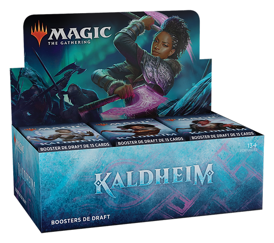 MTG Kaldheim Draft Booster Box