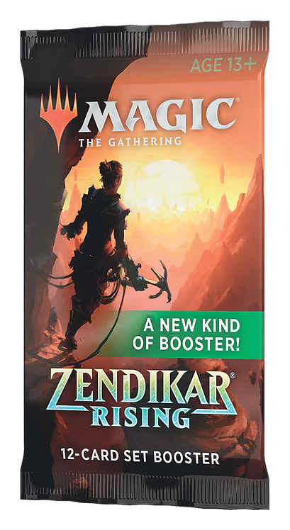 MTG Zendikar Rising Set Booster EN-US