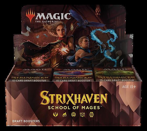 MTG Strixhaven Escola de Magos Draft Booster Box PT-BR